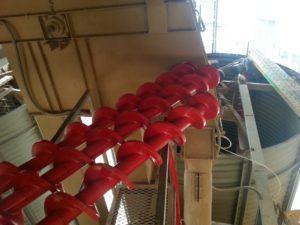 Préparation du montage dune vis Archimedys™
