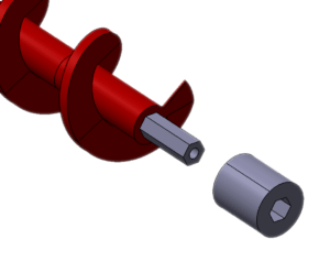 Archimedys™, end side sleeve