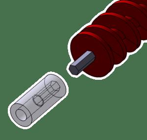 Archimedys™, motor side sleeve